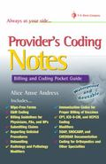 Provider's Coding Notes Billiing & Coding Pocket Guide