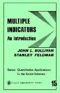 Multiple Indicators An Introduction