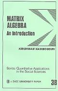 Matrix Algebra An Introduction