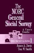 Norc General Social Survey A User's Guide