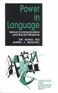 Power in Language Verbal Communication and Social Influence