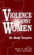 Violence Against Women The Bloody Footprints