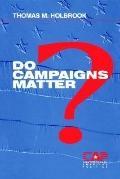 Do Campaigns Matter?