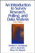 Introduction to Survey Research, Polling, and Data Analysis