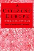 Citizens Europe In Search of a New Order