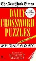 New York Times Daily Crossword Puzzles Wednesday  Level 3