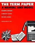 Term Paper a Manual and Model