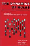 Dynamics of Rules Change in Written Organizational Codes