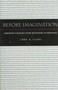 Before Imagination Embodied Thought From Montaigne To Rousseau