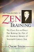 Introduction to Zen Training A Translation of Sanzen Nyumon
