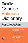 Balinese Dictionary: Balinese-Indonesian-English English-Balinese-Indonesian