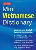 Tuttle Mini Vietnamese Dictionary: Vietnamese-English/English-Vietnamese Dictionary (Tuttle ...