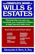 Complete Book of Wills+estates