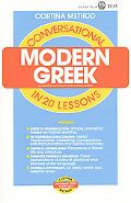 Conversational Modern Greek In 20 Lessons