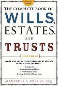 Complete Book of Wills, Estates, & Trusts