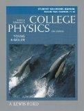 Student Solutions Manual College Physics 8th Edition Volume 2 Chapters 17-30