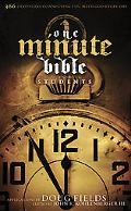 Holman Christian Standard One-minute Bible for Students 366 Devotions Connecting You With Go...