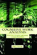 Cognitive Work Analysis Toward Safe, Productive, and Healthey Computer-Based Work