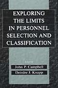 Exploring the Limits of Personnel Selection and Classification