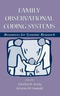 Family Observational Coding Systems Resources for Sytemic Research