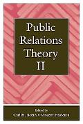 Public Relations Theory II Public Relations Theory 2