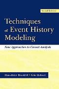 Techniques of Event History Modeling New Approaches to Causal Analysis