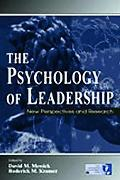 Psychology of Leadership New Perspectives and Research