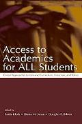 Access to Academics for All Students Critical Approaches to Inclusive Curriculum, Instructio...