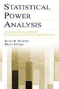 Statistical Power Analysis A Simple and General Model for Traditional and Modern Hypothesis ...