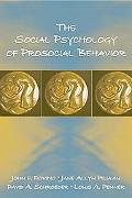 Social Psychology of Prosocial Behavior