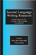 Second Language Writing Research Perspectives On The Process Of Knowledge Construction