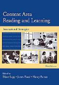 Content Area Reading and Learning Instructional Strategies