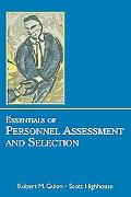 Essentials of Personnel Assessment And Selection Personnel Assessement And Selection