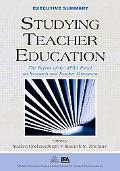 Studying Teacher Education The Report of the AERA Panel on Research and Teacher Education  E...