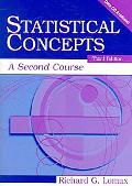 Statistical Concepts A Second Course for Education and the Behavioral Sciences