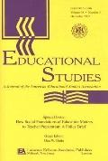 How Social Foundations of Education Matters to Teacher Preparation A Policy Brief a Special ...