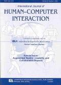 International Journal of Human-Computer Interaction Special Issue  Augmented Reality-Usabili...
