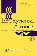 Educational Studies A Journal of the American Educational Studies Association  Special Issue...
