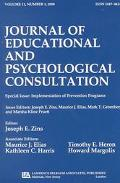 Implementation of Prevention Programs 2000 A Special Issue of the Journal of Educational and...
