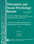 Personality and Social Psychology Review Special Issue Personality and Social Psycoholgy at ...