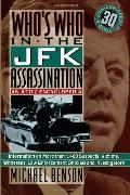 Who's Who in the JFK Assassination An A to Z Encyclopedia