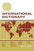 International Dictionary