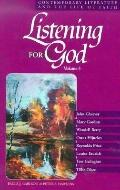 Listening for God Contemporary Literature and the Life of Faith
