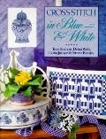Cross-Stitch in Blue and White