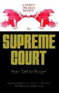 Supreme Court from Taft to Burger