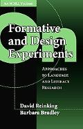 On Formative and Design Experiments