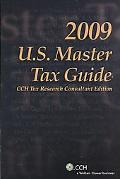 U. S. Master Tax Guide --Special TRC 2009