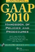 GAAP Handbook of Policies and Procedures (w/CD-ROM), 2010
