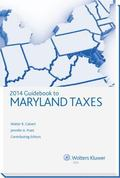 Maryland Taxes, Guidebook To (2014)