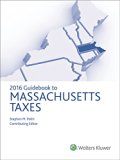 Massachusetts Taxes, Guidebook to (2016)